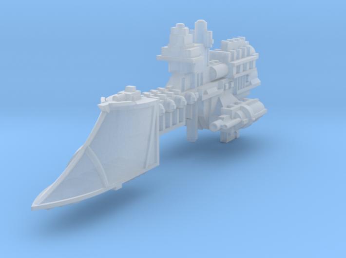 Sword class frigate 3d printed
