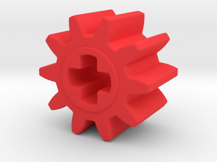 10 teeth gear Technic 3d printed