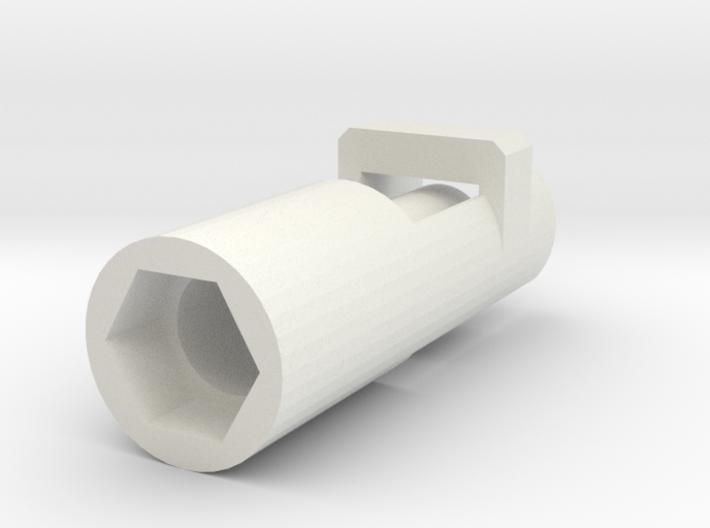 Heimeier radiator valve servo mount arduino  3d printed