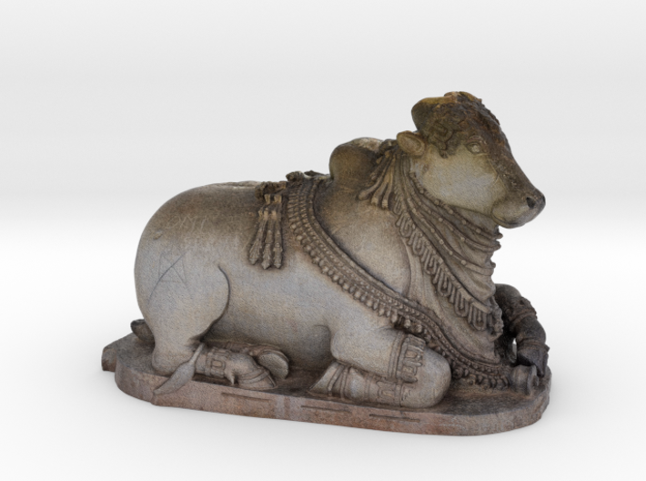 Indian Sacred Cow - Nandi 3d printed