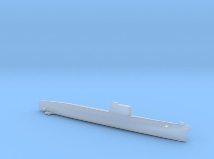 Foxtrot-class submarine, Full Hull, 1/1800 3d printed