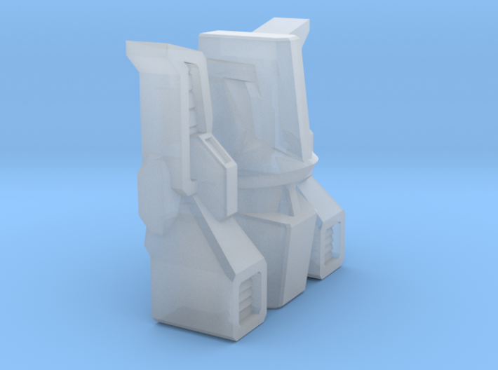 Tumbler G1 Toy Head 3d printed