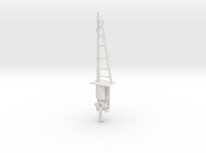 Signal 27 Ft Post HO NSWGR Lower Quadrant 3d printed