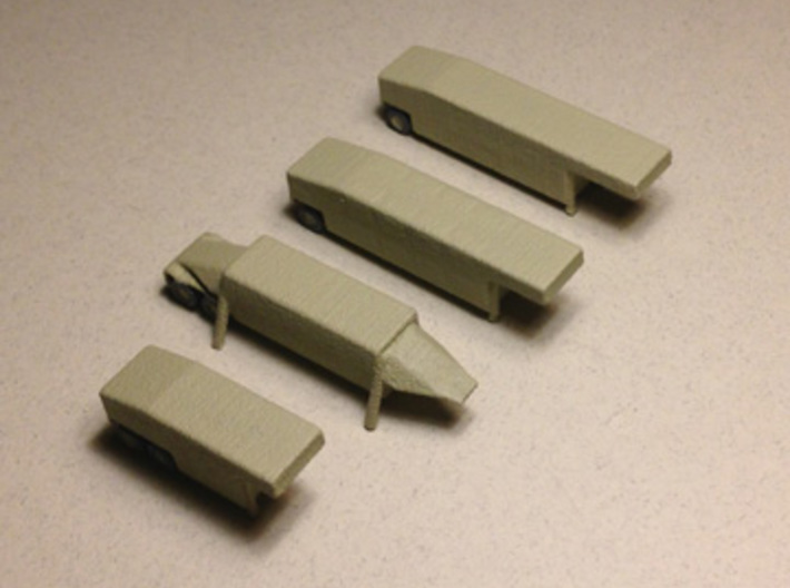 1/285 Scale THAAD Missile System 3d printed