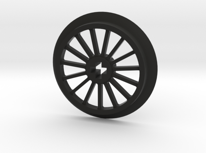 Medlium-Large Thin Train Wheel 3d printed