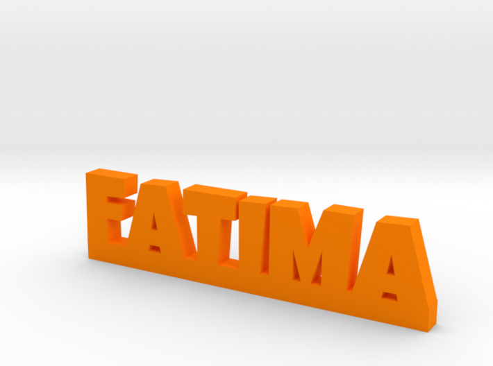 FATIMA Lucky 3d printed