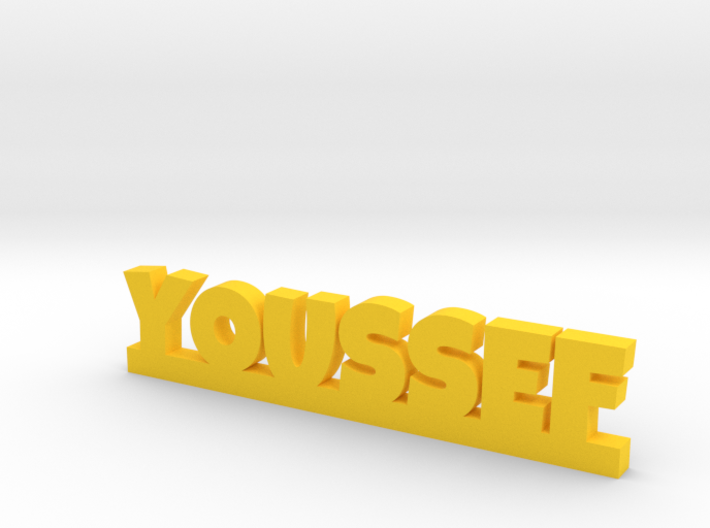 YOUSSEF Lucky 3d printed