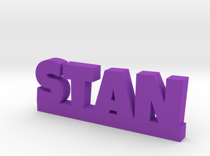STAN Lucky 3d printed