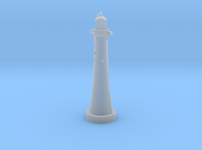 Lighthouse - Eddystone Rocks 1/700th scale 3d printed