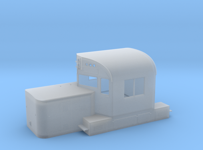 Alco C420 Cab & Short Hood w/ Nose Door 3d printed