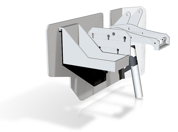 1:6 scale Hasbro HMMWV Gun mount 3d printed