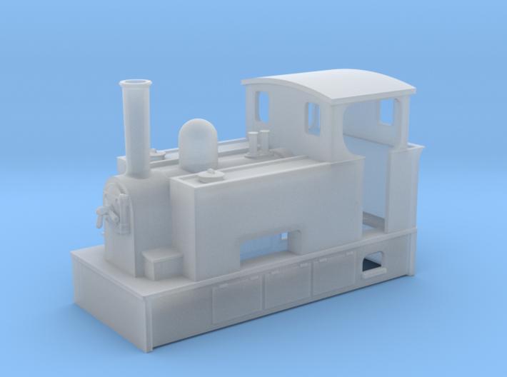 Nn3 tram loco 3 3d printed