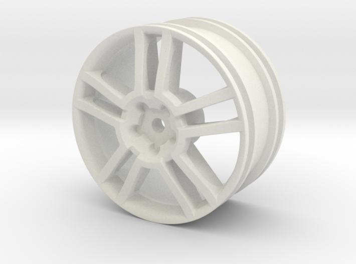 2004 Seat Ibiza Cupra 1/10th RC wheel 3d printed