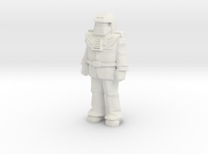 Miles Mayhem, standing, 35mm Mini 3d printed