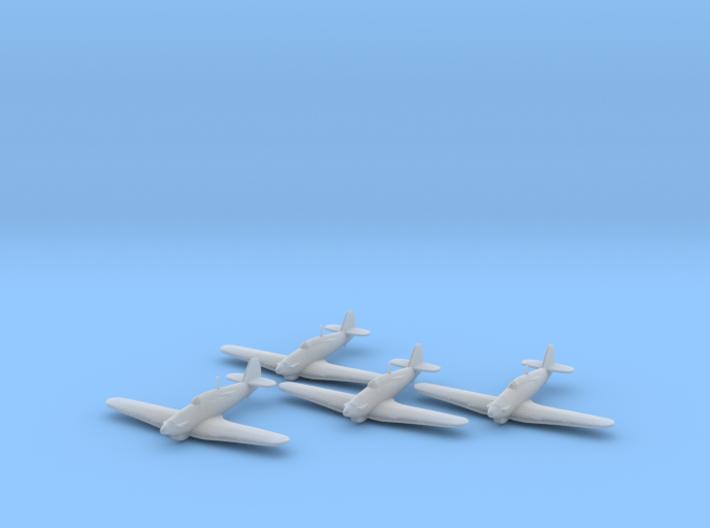 Hawker Hurricane Mk.IIb Trop 1:200 x4 FUD 3d printed
