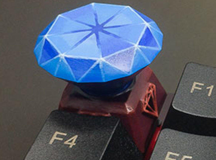 Diamond Keycap 3d printed