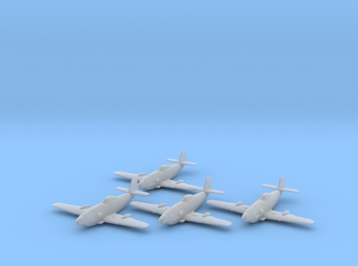 Messerschmitt Me 309 1:200 x4 FUD 3d printed