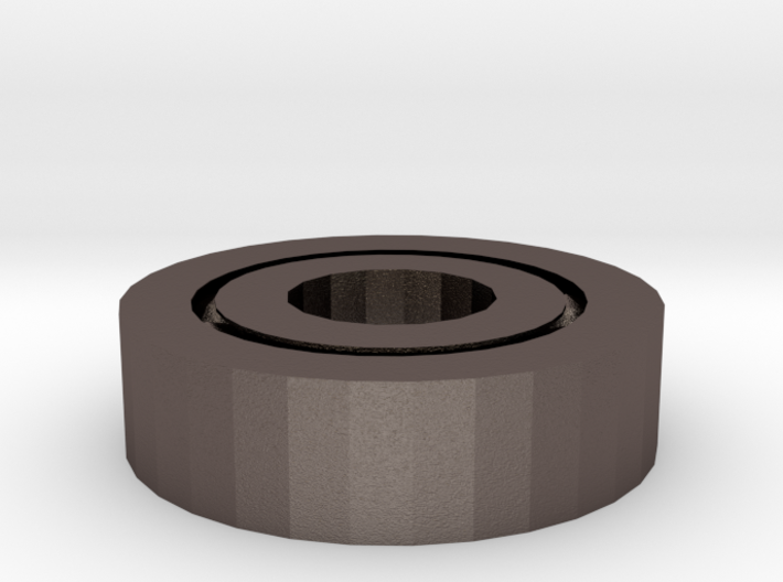 Skateboard Bearing 3d printed