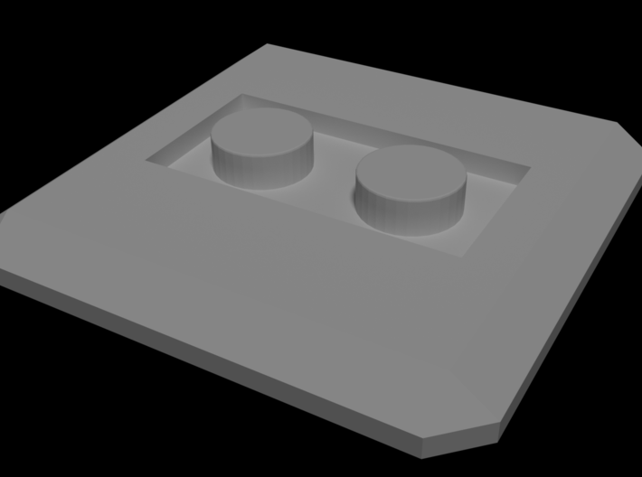LEGO Conversion base plate (square) 3d printed