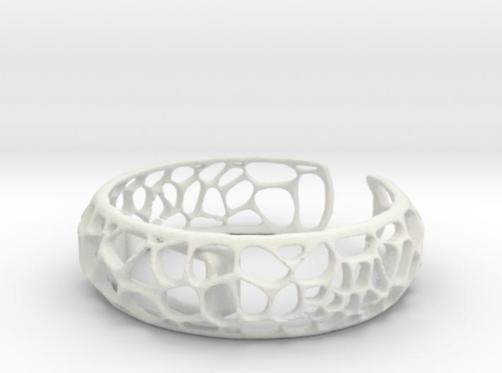 Coral Cuff for Fitbit Flex2 3d printed