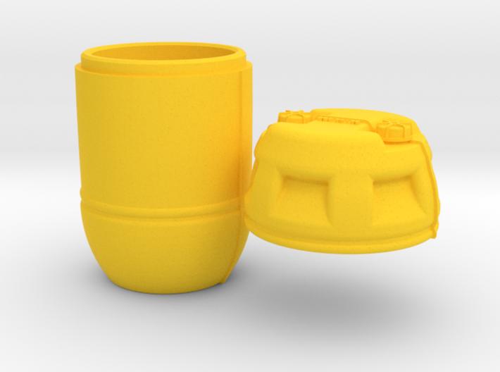 1-16 Shark Hunter Barrel 3d printed