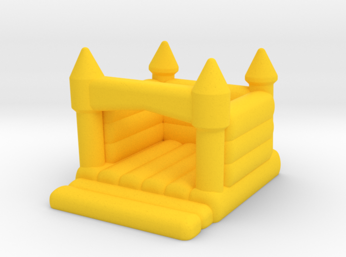 N Scale Bouncing Castle 3d printed