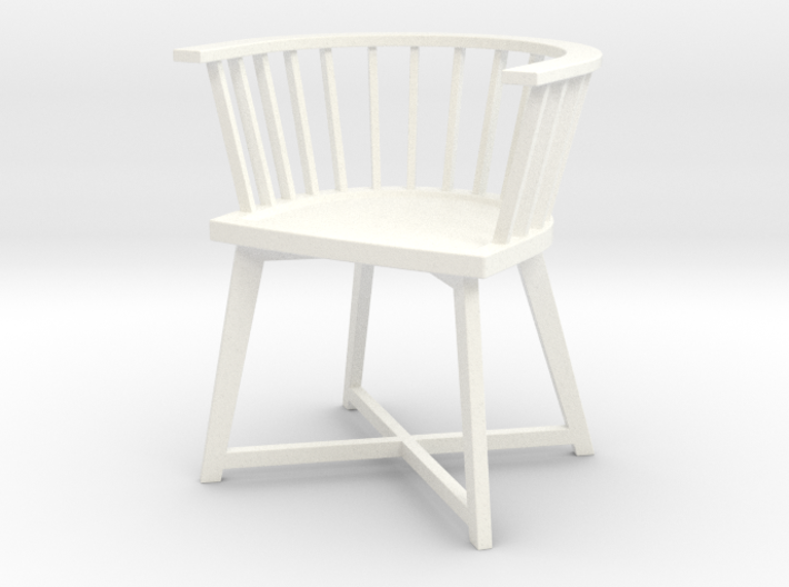 1:12 Chair Italian modern 3d printed