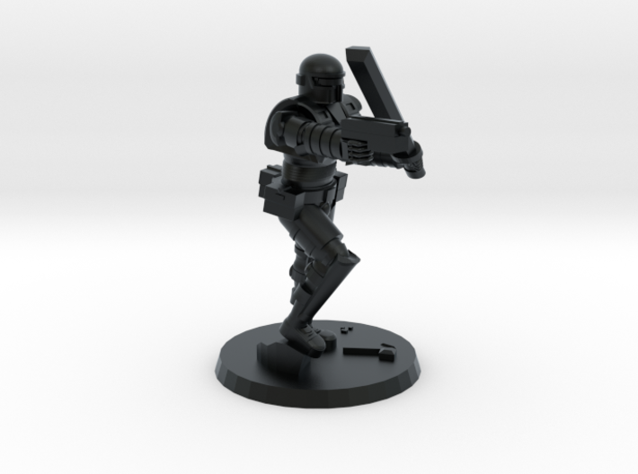 36mm Heavy Armor CC Weapons 3d printed