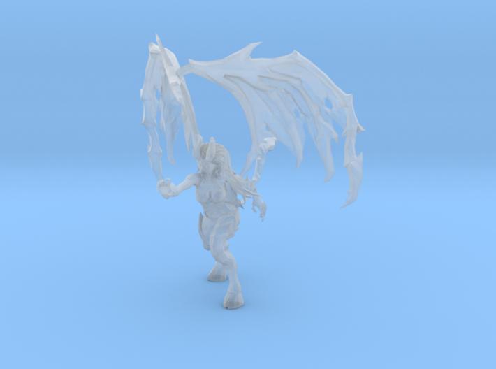1/24 Zerg Queen Kerrigan Devil Outfit 3d printed