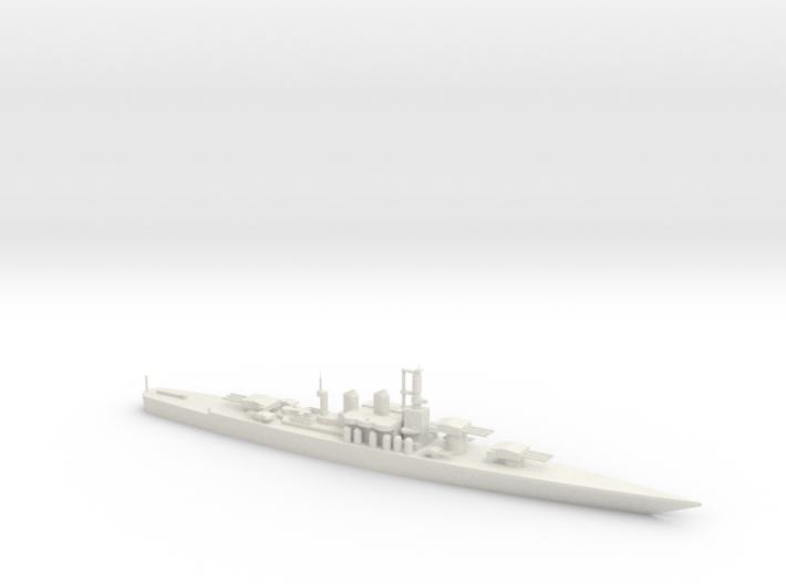 SS Andrea Doria Battleship 3d printed