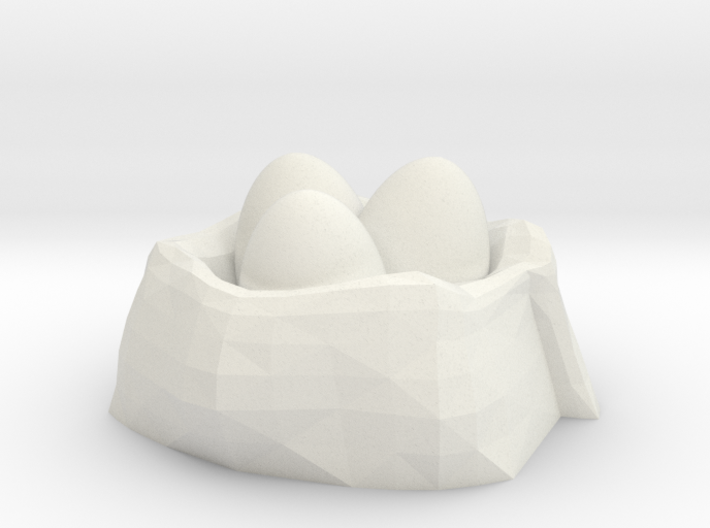 Dragon Egg Nest No.2 3d printed