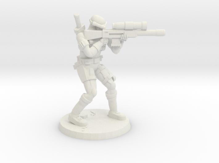 38mm SpecFor Sniper 7 3d printed