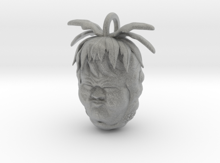 Pineapple Sour Face 3d printed