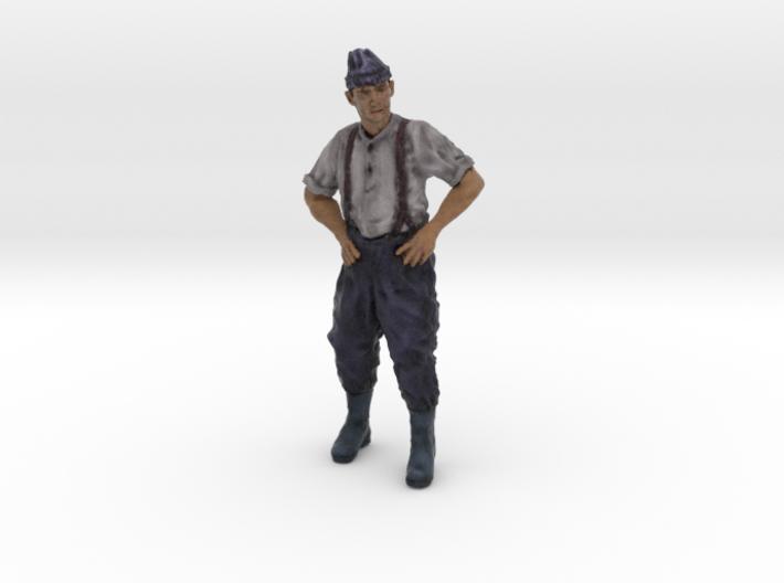 1-16 Fisherman Color 1 3d printed