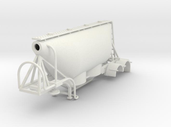 000580 Dry Bulk trailer HO 3d printed