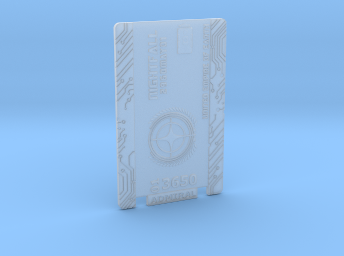Star Citizen Card 2014 Personal 3d printed