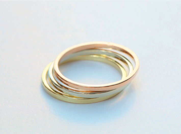 Ring Inner Diameter 21.4mm 3d printed