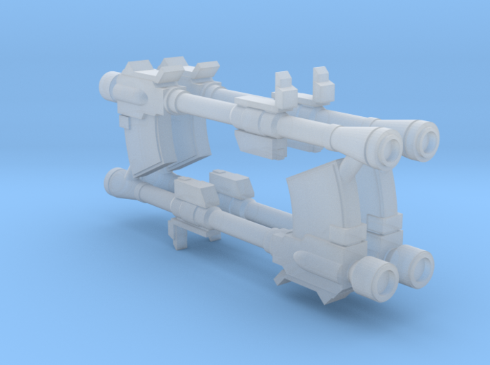 1:400 Later Federation Mobile Suit Bazooka 3d printed