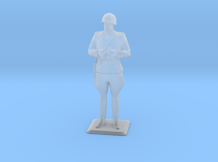 Patton at 1:72 Scale 3d printed