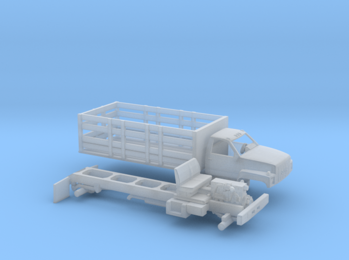 1/160 1990-94 GMC TopKick Stake Bed 3d printed