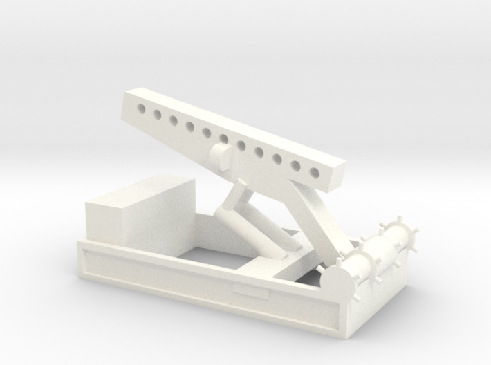 1/72 Scale Nike Launch Pad 3d printed