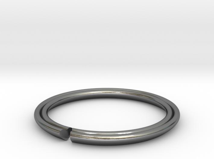 Secret Hidden Heart Ring (Size 7) 3d printed