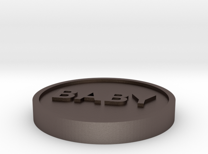 Coin: Baby or Dump 3d printed