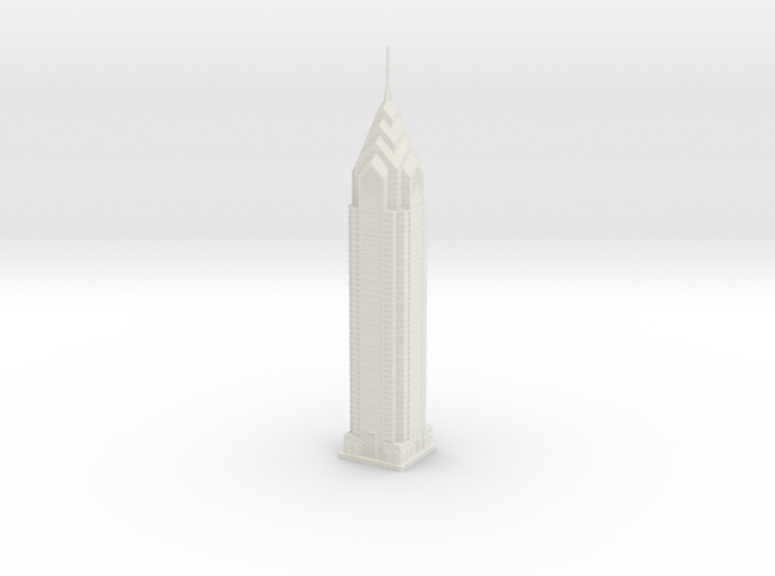 One Liberty Place (1:2000) 3d printed