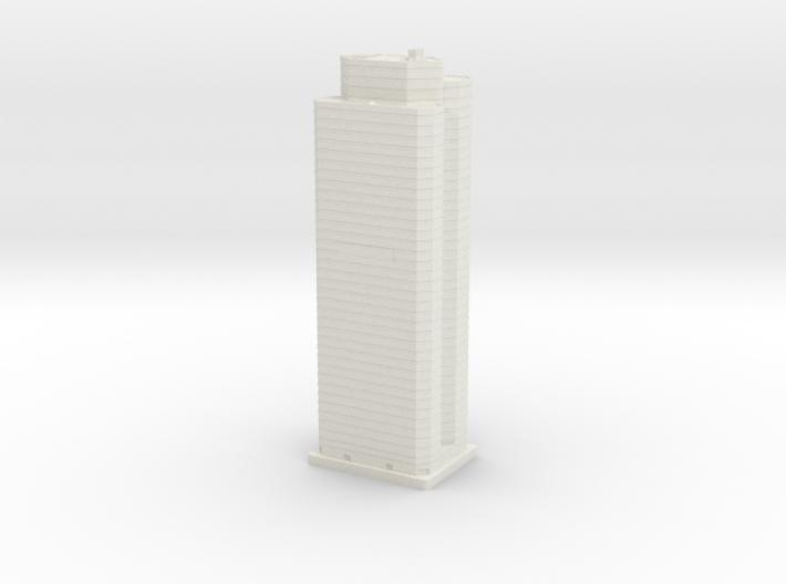 PNC Building (1:2000) 3d printed