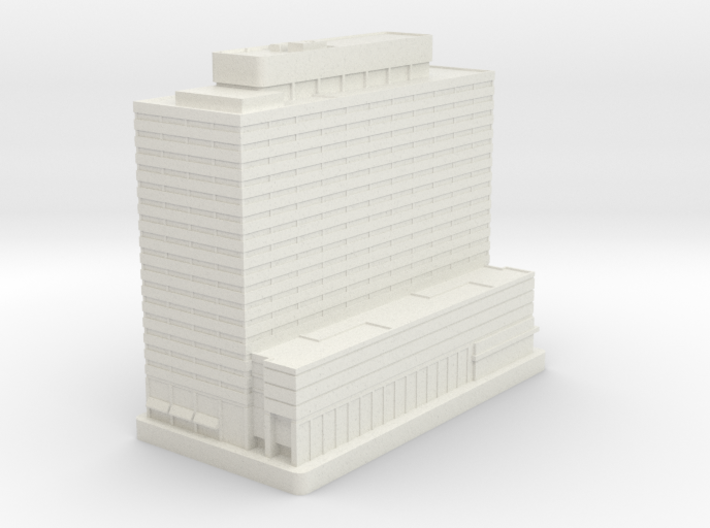 Six Penn Center (1:2000) 3d printed