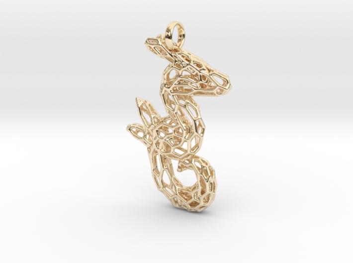 Gloria the Seahorse 3d printed