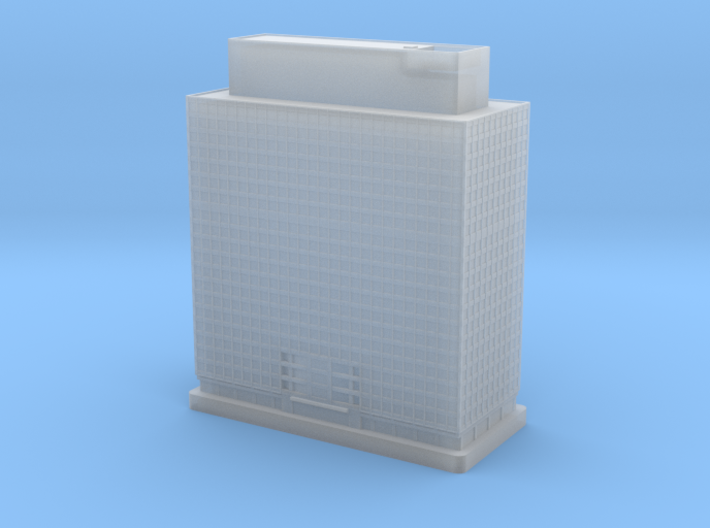 Four Penn Center (1:2000) 3d printed