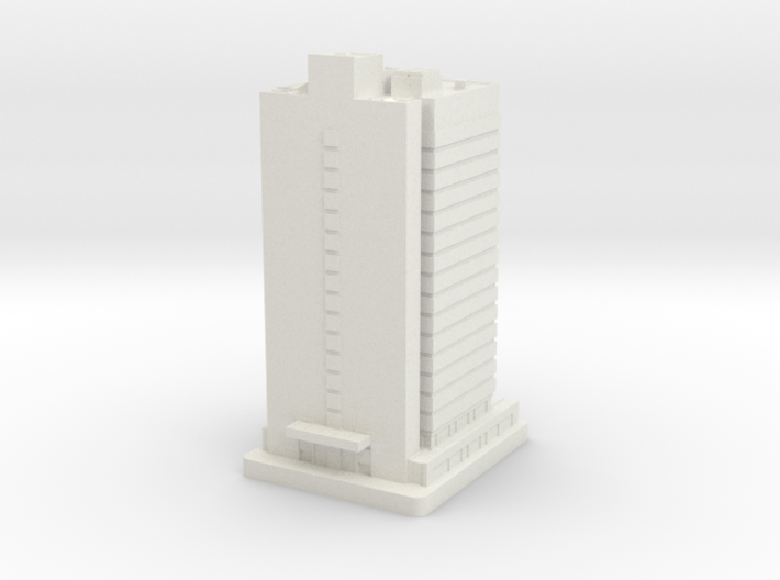 Seven Penn Center (1:2000) 3d printed