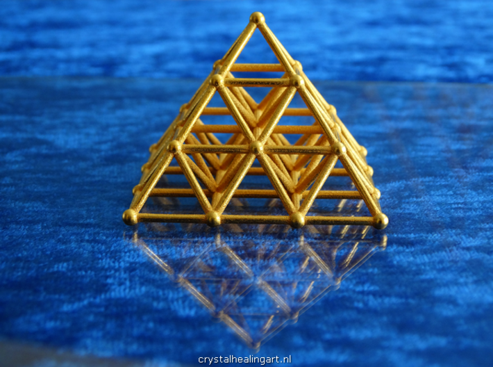 Pyramid Matrix - 3x3 Grid 3d printed